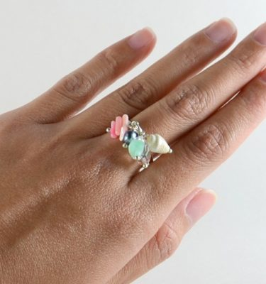 Skinny Pig Signature Collection Charm Ring