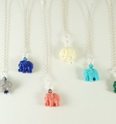 Elephant necklace 10