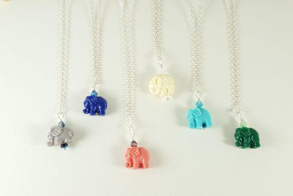 Elephant necklace 10