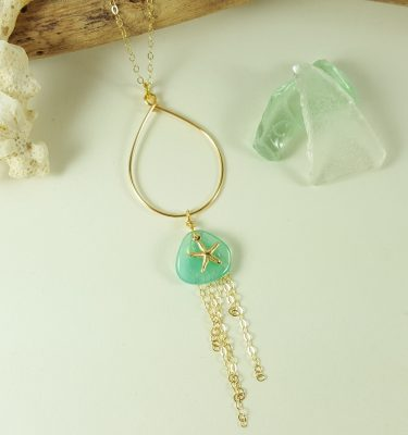 aqua-petal-gold-starfish-teardrop-necklace-2