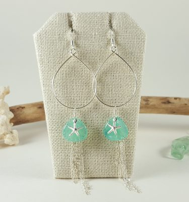 aqua-petal-silver-starfish-teardrop-earrings-1